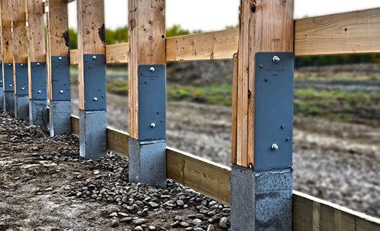 Cement Pole Barn Post : Perma columns